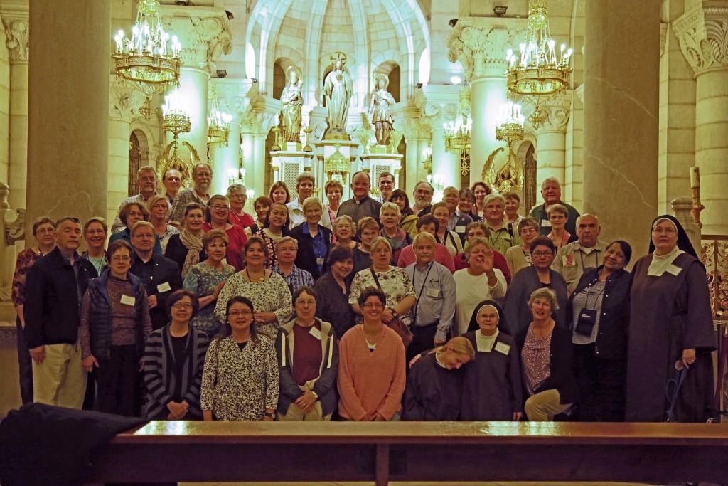 The Carmelite Pilgrims, November 2015