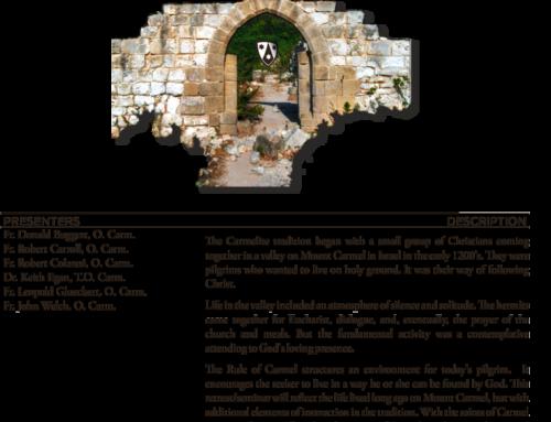 Retreat: Into the Land of Carmel
